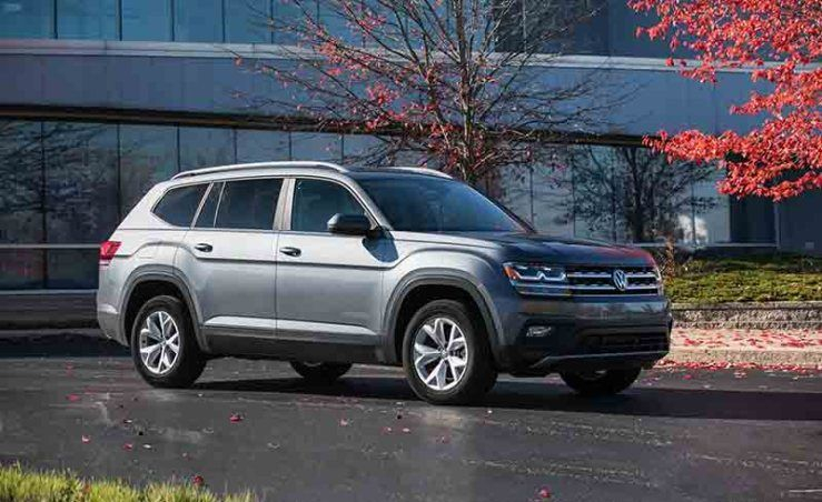 2021 VW Atlas Coupe SUV Truck And More Volkswagen